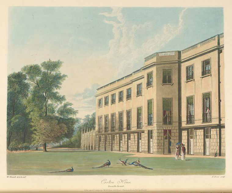 Carlton House - South Front. (1819).jpeg
