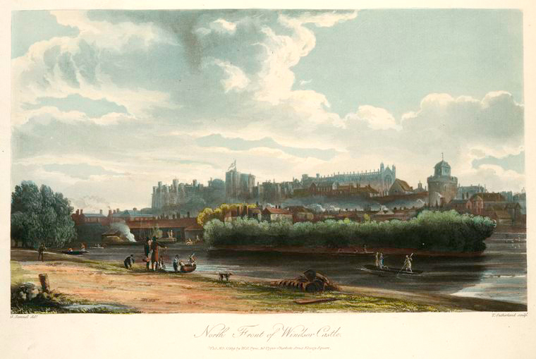 North front of Windsor Castle. (1819).jpeg
