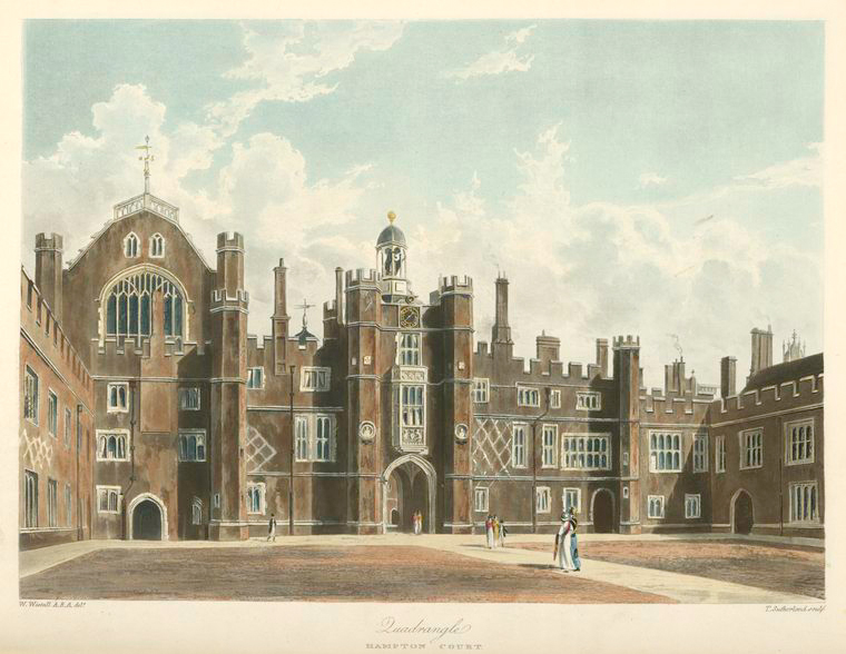 Quadrangle - Hampton Court. (1819).jpeg