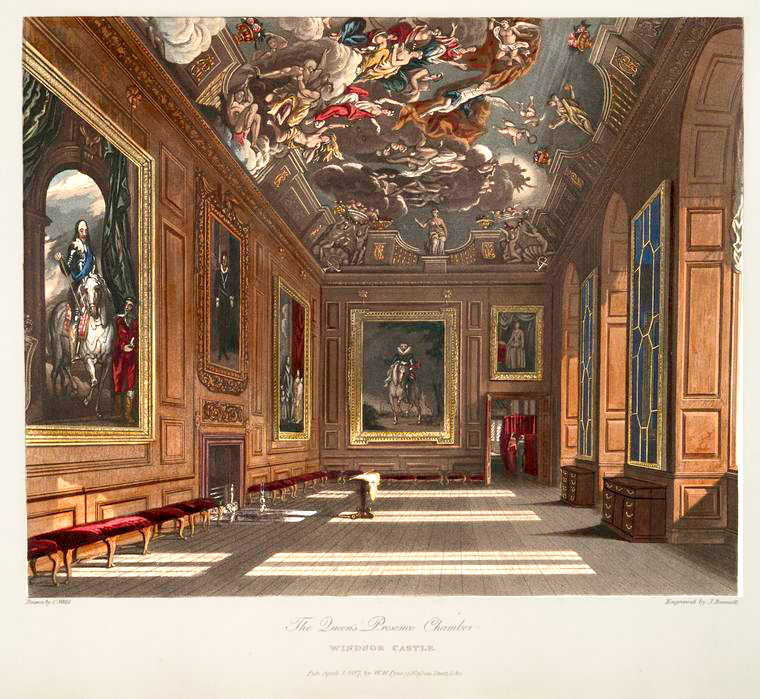 1The Queen's Presence Chamber - Windsor Castle. (1819).jpg