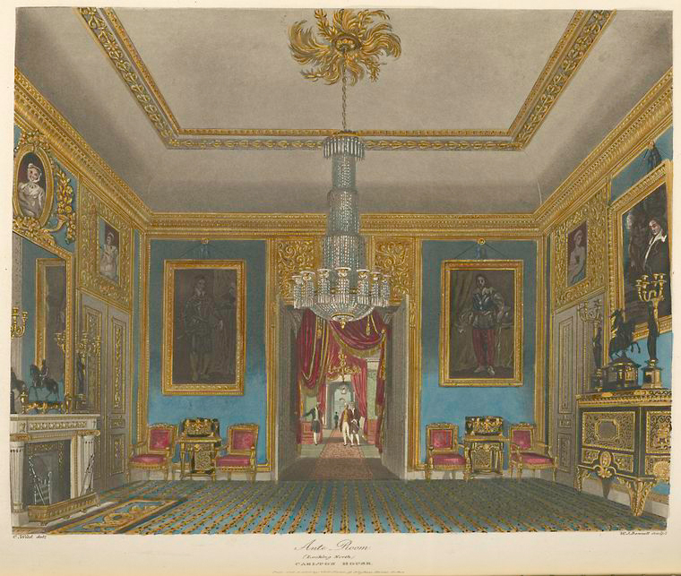 Ante Room (looking north) - Carlton House. (1819).jpeg