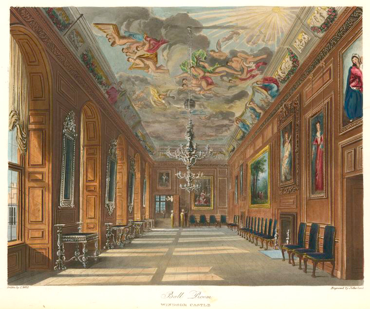 Ball Room - Windsor Castle. (1819).jpeg