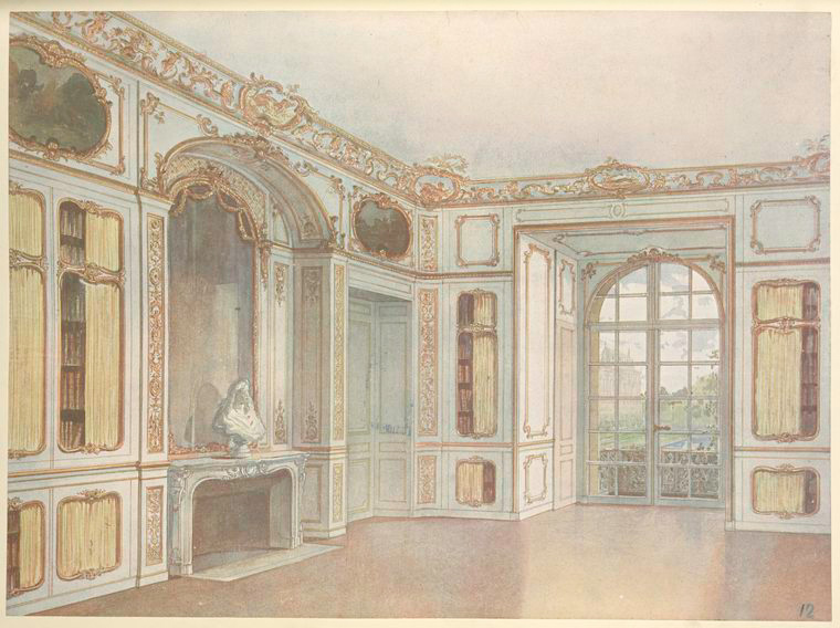 Bibliothéque du roi a Versailles.... [Corner of the library at Versalles.] (1907).jpeg