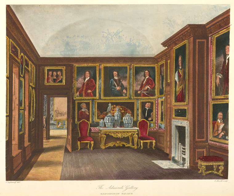 The Admiral's Gallery - Kensington Palace. (1819).jpeg